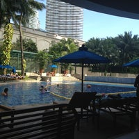 Photo taken at Rockwell Club Pool by Pearl a. on 1/13/2013