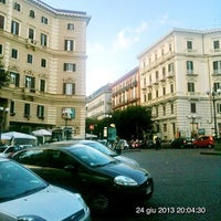 Photo taken at Piazza Luigi Vanvitelli by Gennaro C. on 6/24/2013