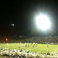 Photo taken at Bear stadium by Amy B. on 9/21/2013