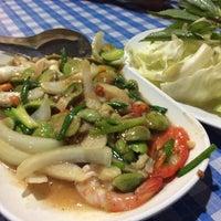 Photo taken at ร้านอาหารตาชั่งอีสาน-ใต้(สนามบิน) by Thanakorn P. on 6/12/2015