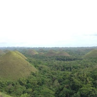 Photo taken at The Chocolate Hills by Marzzz on 4/1/2013