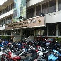 Photo taken at Phayathai Police Station by Proypry S. on 10/20/2012