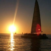 Photo taken at Mallory Square by Andrea T. on 11/1/2012