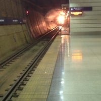Photo taken at Terminal 1 - Lindbergh LRT Station by Ross E. on 11/11/2012
