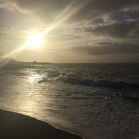 Photo taken at Porthcawl Beach by Jonathan H. on 1/24/2015