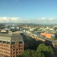 Photo taken at Radisson Blu Hotel by Jonathan H. on 6/27/2015