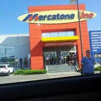 Photo taken at Mercatone Uno by Gabriele P. on 8/31/2013
