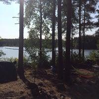 Photo taken at Большое Градуевское озеро by Bakhurov B. on 8/4/2014