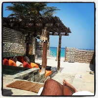 Photo taken at Six Senses Zighy Bay by Ferrio on 5/31/2013