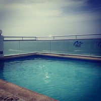 Photo taken at Wet Bar, Roof Top, Water Club Hotel by Valentina M. on 6/9/2013