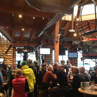 Photo taken at Merlins Bar & Grill Whistler by chabi777 on 3/1/2013