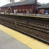 Photo taken at Metro North - South Norwalk Train Station by Chris P. on 5/22/2013