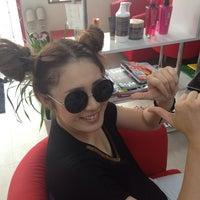 Photo taken at Hair extension&nail GOLDBUNNY by Natsu T. on 7/25/2013