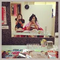 Photo taken at Hair extension&nail GOLDBUNNY by Natsu T. on 7/18/2013