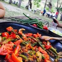Photo taken at cit köyü alabalık çiftliğin çubuk by hilmi  OKYAY Ö. on 9/6/2015