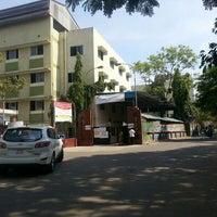 Photo taken at Velammal Main School , Mugappair by Naveen N. on 5/22/2013