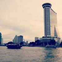 Photo taken at Millennium Hilton Bangkok by Pup J. on 9/6/2013