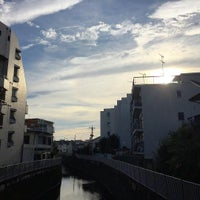 Photo taken at 関根橋 by Okyoung K. on 8/18/2015