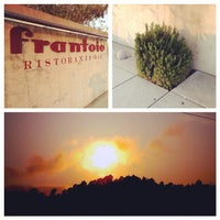 Photo taken at Frantoio Ristorante by Aaron S. on 8/7/2014