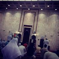 Photo taken at جامع أبي بكر الصديق by Mohsin A. on 8/31/2013