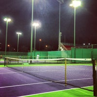 Photo taken at Qatar Tennis Federation by Mohsin A. on 4/14/2013