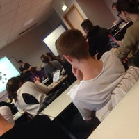 Photo taken at Université Lille 1 by Saahil G. on 12/12/2014