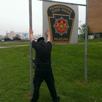 Photo taken at Pennsylvania State Police - Philadelphia Barracks by Paul W. on 5/22/2013