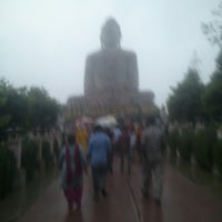 Photo taken at Great Buddha Statue by Rishabh M. on 11/3/2012