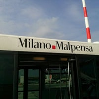 Photo taken at Milan Malpensa Airport (MXP) by Kayon C. on 9/25/2013