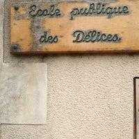 Photo taken at Ecole Des Délices. Clermont-Créans by Sophie C. on 6/17/2013