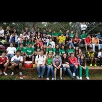 Photo taken at f.C.V (cancha) by Vane V. on 9/28/2014