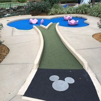 Photo taken at Fantasia Gardens Miniature Golf by Eric N. on 2/6/2014