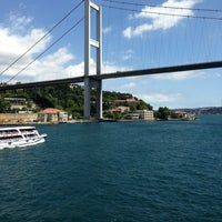Photo taken at Bosphorus by Batuhan E. on 5/27/2013