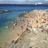 "Photo taken at Playa Las Conchitas by Cristian ""Mauro"" E. on 2/23/2013"