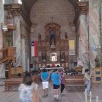 Photo taken at Iglesia De Andacollo by Eduardo V. on 2/17/2014