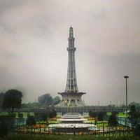 Photo taken at Minar-e-Pakistan by Muhammad Uzair on 2/16/2013