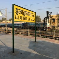 Photo taken at Allahabad Junction by Liu L. on 11/26/2016
