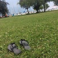 Photo taken at Club Aliga Beach by Zsófia T. on 7/9/2017