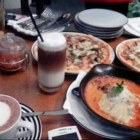 Photo taken at Pizza Express by nina a. on 4/13/2013