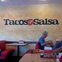 Photo taken at Tacos N Salsa by Doug B. on 9/7/2013
