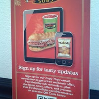 Photo taken at Firehouse Subs by Russ E. on 12/26/2013