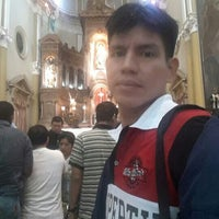 Photo taken at Iglesia San Agustín by Byron Miguel B. on 10/5/2015