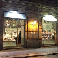 Photo taken at Ladurée Milan by Evgeny K. on 1/13/2017