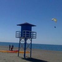 Photo taken at Rincón de la Victoria Beach by Calle L. on 6/7/2013