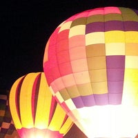 Photo taken at Lincoln Art & Balloon Festival - at Logan County Airport by Lori S. on 8/25/2013