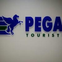 Photo taken at Pegas Touristik by IBIZA M. on 12/25/2013