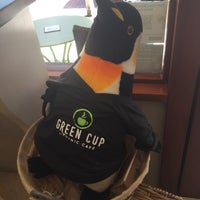 Photo taken at Green Cup Cafe by Jennifer R. on 10/10/2016