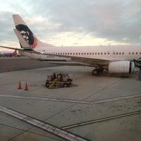Photo taken at Alaska Airlines Flight 841 by Lori K. on 8/17/2013