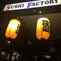 Photo taken at Sushi Factory by James A. on 8/22/2014
