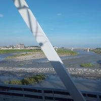 Photo taken at 東海道本線 酒匂川橋梁 by neko1go on 8/25/2018